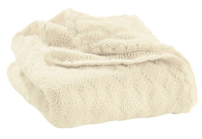 Disana Organic Wool Knitted Baby Blanket